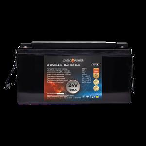 Акумулятор LP LiFePo-4 24 V 90 Ah BMS 60A пластик
