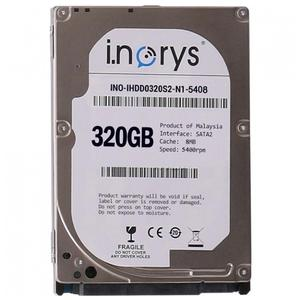 "Внутрішній жорсткий диск I.norys 320GB 5400rpm 8MB INO-IHDD0320S2-N1-5408 2.5"" SATA II"