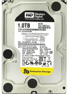 """Внутрішній жорсткий диск Western Digital RE4 1ТБ 7200 обертів в хвилину 64МБ 3.5"""" SATA II WD1003FBYX"""
