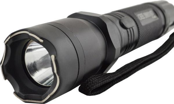 Многофункциональный тактический фонарик с отпугивателем Police 1101, мініатюра №4