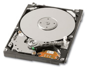 """Внутрішній жорсткий диск Toshiba 120ГБ 5400 обертів в хвилину 8МБ 2.5"""" SATA II MK1252GSX, мініатюра №2"""