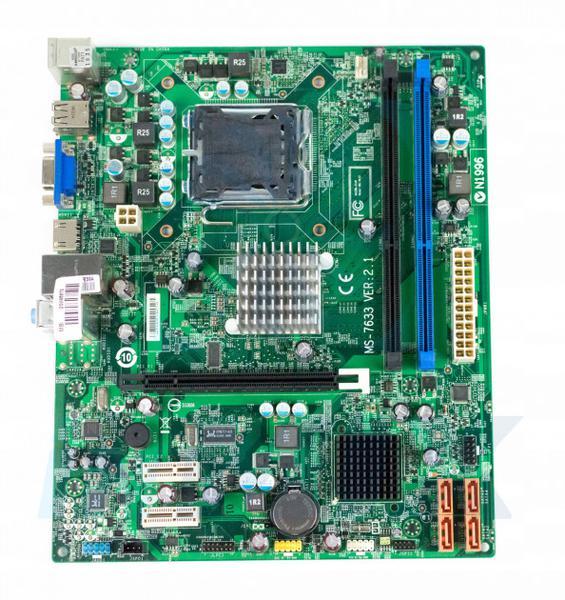 Материнська плата MSI MS-7633 ver 2.1 (Socket 775, Intel G41, PCI-Ex16) (MS-7633 ver 2.1), мініатюра №1