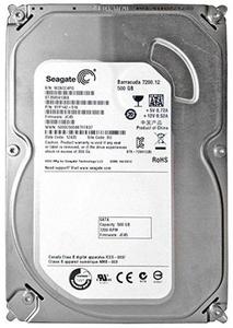 """Внутрішній жорсткий диск Seagate Desktop HDD 500ГБ 7200 обертів в хвилину 16МБ 3.5"""" SATA III ST3500413AS"""