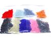 Бисерный FROM FACTORY NHS набор с мелким бисером 10/0 (100шт/50цветов) по 5 грамм, мініатюра №4