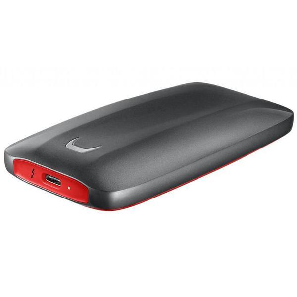 Зовнішній накопичувач Samsung 1 ТБ Thunderbolt 3 червоний чорний MU-PB1T0B WW, мініатюра №6