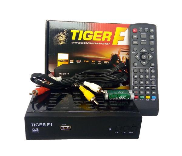 Спутниковый ресивер Tiger F1 HD , мініатюра №1
