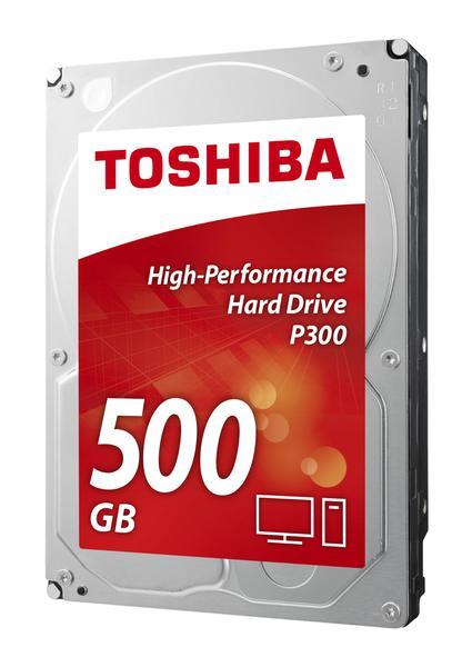 """Внутрішній жорсткий диск Toshiba P300 500ГБ 7200 обертів в хвилину 64МБ 3.5"""" SATA III HDWD105UZSVA, мініатюра №6"""