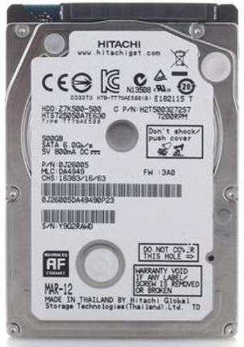 """Внутрішній жорсткий диск WDC Hitachi HGST 2.5"""" 500GB HTS725050A7E630, мініатюра №1"""