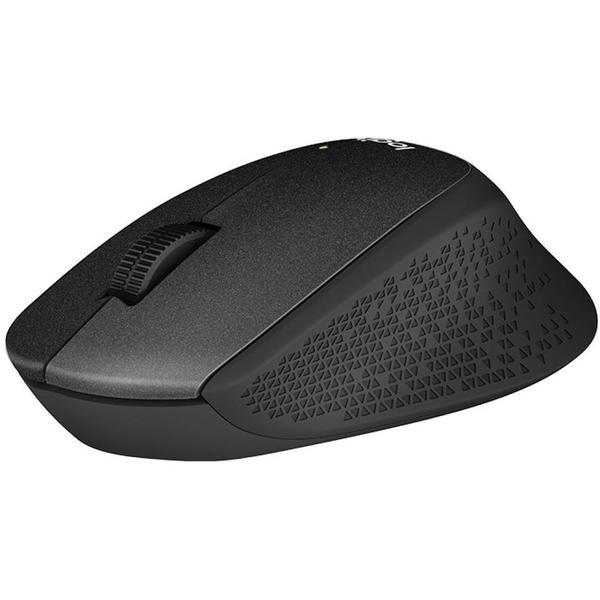 Мишка Logitech M330 Silent plus Black (910-004909), мініатюра №1