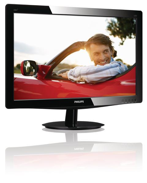 "Монітор Philips LED 21.5"" Full HD 226V3LSB 00, мініатюра №2"