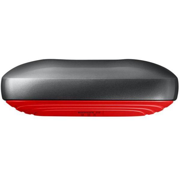 Зовнішній накопичувач Samsung 1 ТБ Thunderbolt 3 червоний чорний MU-PB1T0B WW, мініатюра №8