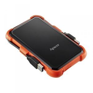 """Зовнішній жорсткий диск Apacer 2.5"""" USB 1.0TB AC630 black оrange AP1TBAC630T-1"""