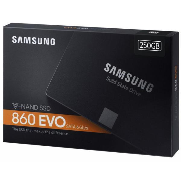 """Внутренний накопитель Samsung 250 ГБ 2.5"""" SATA 6Gb 3bit MLC MZ-76E250BW, мініатюра №8"""
