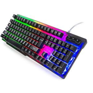Клавіатура Vinga KB414 black (KB414)
