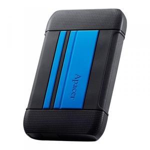 """Зовнішній жорсткий диск Apacer 2.5"""" USB 3.1TB AC633 black blue AP1TBAC633U-1"""