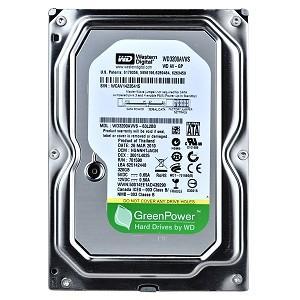 Внутрішній жорсткий диск Western Digital 40 HDD SATA 320Gb WD 8Mb AV-GP WD3200AVVS
