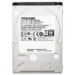 """Внутрішній жорсткий диск Toshiba 2.5"""" 500GB 5400 обертів в хвилину 8МБ SATA III MQ01ABD050"""