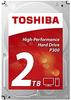 """Внутрішній жорсткий диск Toshiba 2ТБ 7200 обертів в хвилину 64МБ 3.5"""" SATA III HDWD120UZSVA, мініатюра №1"""