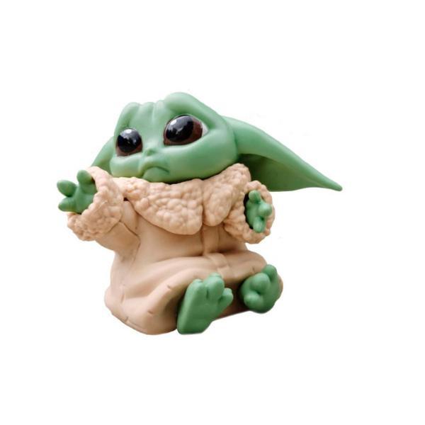 Фигурка Малыш Йода Ребенок Baby Yoda 2 8198, мініатюра №1