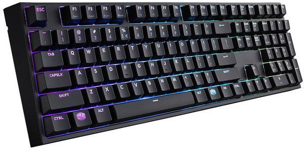 Клавіатура Cooler Master MasterKeys Pro L RGB USB Black (SGK-6020-KKCR1-RU), мініатюра №2