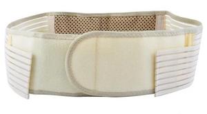 Турмалиновый пояс белый 1 шт Обхват талии для пояса 65-119 см