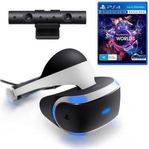 Очки виртуальной реальности Sony PlayStation VR (Camera +VR Worlds) (9982067)