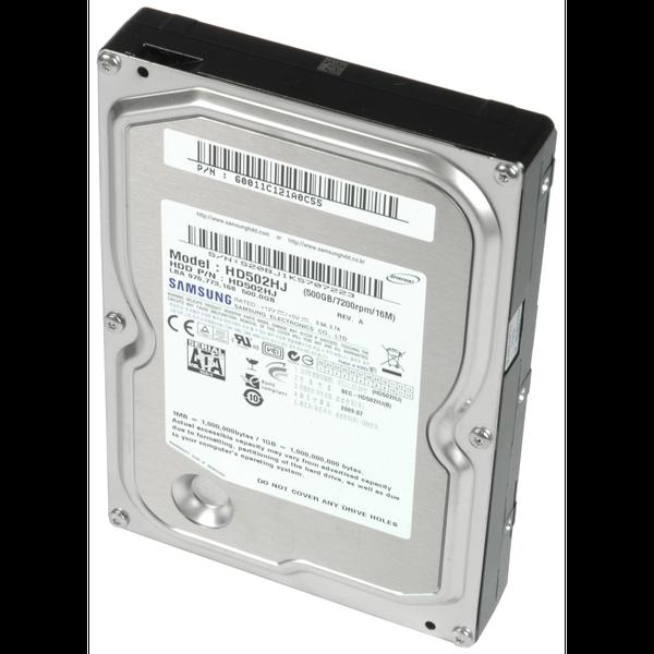"""Внутрішній жорсткий диск Samsung Spinpoint F3 500ГБ 7200 обертів в хвилину 16МБ 3.5"""" SATA II HD502HJ, мініатюра №1"""