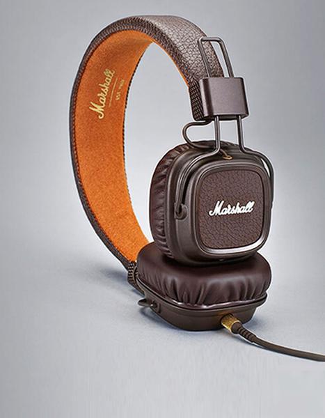 Навушники Marshall Major II Bluetooth Brown (4091112), мініатюра №2