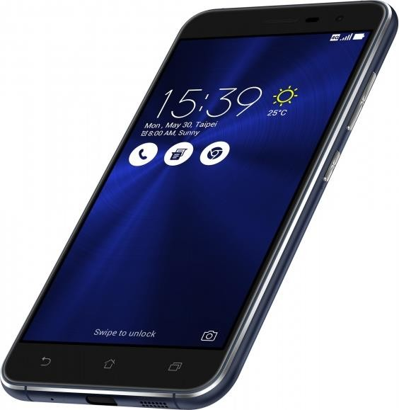 Смартфон Asus ZenFone 3 4-32 Gb sapphire black ZE520KL, мініатюра №4