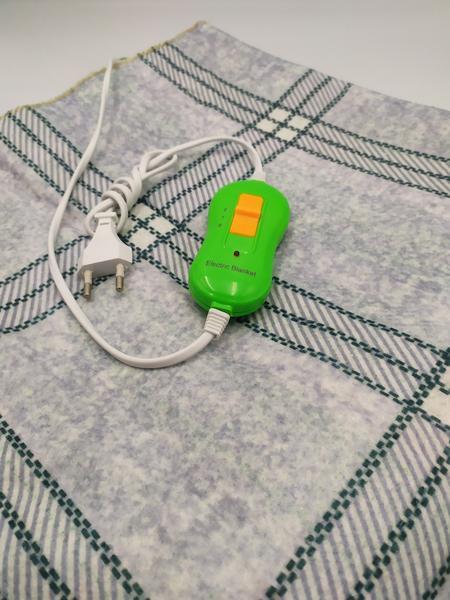 Электропростынь односпальная 75*155 см LUX, мініатюра №6