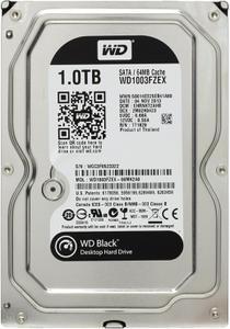 """Внутрішній жорсткий диск Western Digital black 1ТБ 7200 обертів в хвилину 64МБ 3.5"""" SATA III WD1003FZEX"""