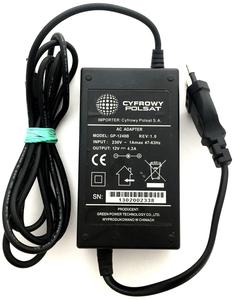 Блок питания Cyfrowy Polsat 12V 4.2A штекер 5.5 x 2.1 (GP-1248B)
