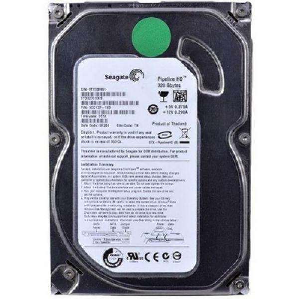 """Внутрішній жорсткий диск Seagate Pipeline HD 320ГБ 5900 обертів в хвилину 8МБ 3.5"""" SATA II ST3320310CS, мініатюра №1"""