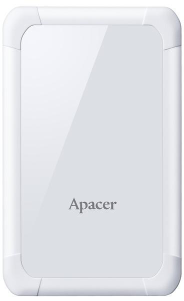 """Зовнішній жорсткий диск Apacer 2ТБ 2.5"""" USB 3.1 білий AP2TBAC532W-1, мініатюра №1"""