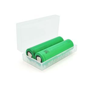 Аккумулятор 18650 Li-Ion Sony US18650VTC5 2600mAh 30A 4.2/3.6/2.5V, GREEN PVC BOX
