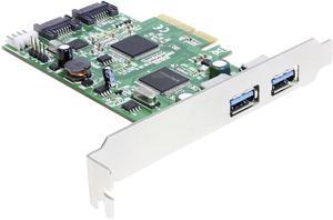Интерфейсный адаптер DeLOCK Products PCI Express Card (4043619893591)