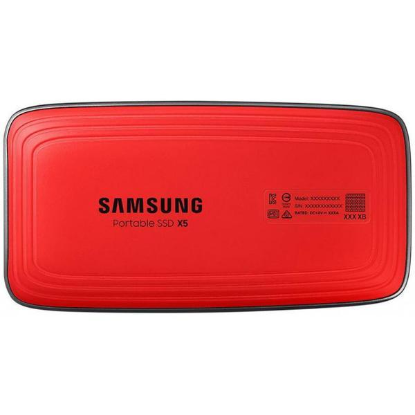Зовнішній накопичувач Samsung 1 ТБ Thunderbolt 3 червоний чорний MU-PB1T0B WW, мініатюра №4