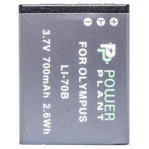 Аккумулятор для фото/видеокамер PowerPlant Olympus LI-70B (DV00DV1265)