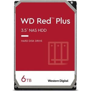 Внутрішній жорсткий диск Western Digital HDD SATA 6.0TB red Plus 5400rpm 128MB WD60EFZX