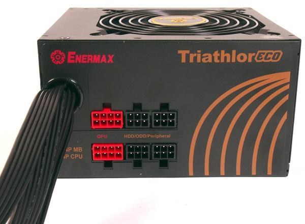 Блок питания для ПК Enermax triathlor ECO ETL650AWT-M, мініатюра №2