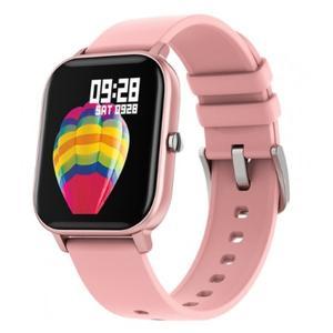 Смарт-часы фитнес-браслет smart watch Smartix P8 розовый пульс давление кислород