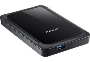 """Зовнішній жорсткий диск Apacer 2TB 2.5"""" USB 3.1 AC532 black AP2TBAC532B-1"""