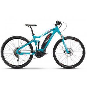 Электровелосипед Haibike SDURO FullNine 5.0 400Wh, 2017, рама 55см, синий,  (4544510755)