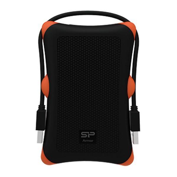 """Зовнішній жорсткий диск Silicon Power 2ТБ 2.5"""" USB 3.0 чорний SP020TBPHDA30S3K, мініатюра №2"""