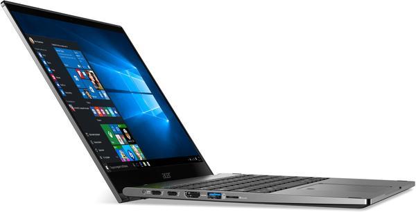 """Ультрабук 13,3"""" Acer Spin 5 SP513-52N-58WW Steel Gray, мініатюра №4"""