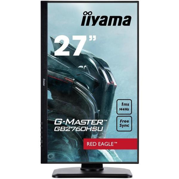"Монітор Iiyama G-Master 27"" Full HD LED GB2760HSU-B1, мініатюра №8"