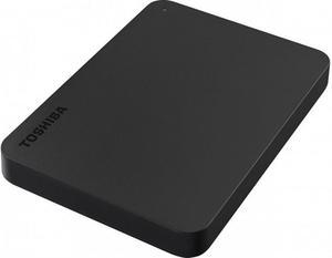 """Зовнішній жорсткий диск Toshiba 2.5"""" USB 1.0TB Canvio Basics black USB-C адаптер HDTB410EK3ABH"""