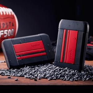 """Зовнішній жорсткий диск Apacer 2.5"""" USB 2TB AC633 black red AP2TBAC633R-1"""