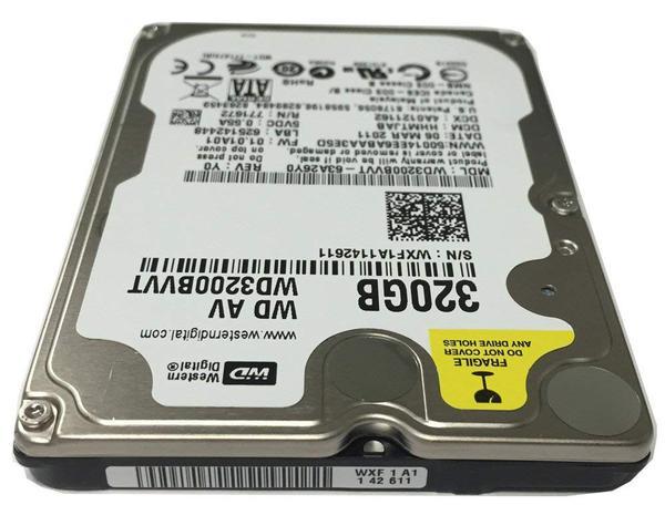 """Внутрішній жорсткий диск Western Digital 320ГБ 5400 обертів в хвилину 8МБ 2.5"""" SATA WD3200BVVT, мініатюра №3"""