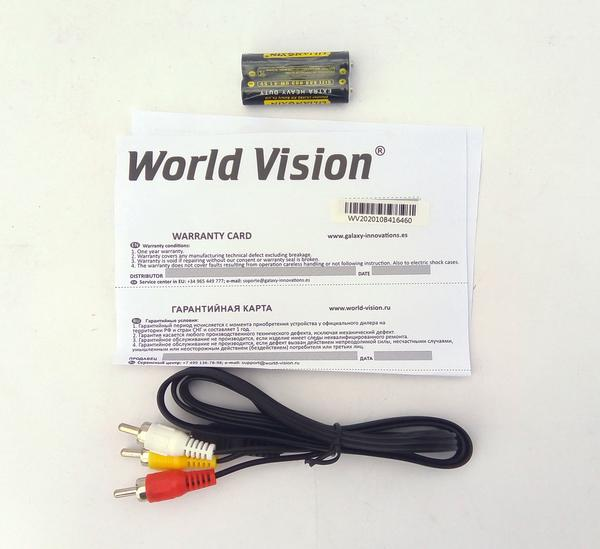 Т2 тюнер World Vision T624А WI-FI модуль 5Дб дальнобойный  IPTV , мініатюра №5